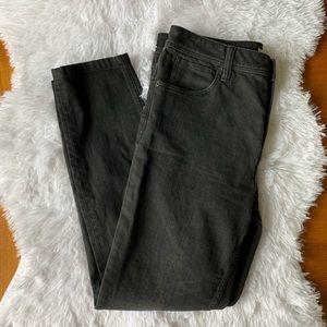 Burberry Brit Skinny High Rise Jeans Black W 30
